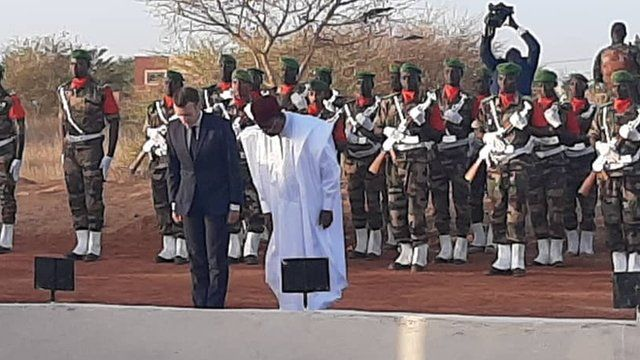 Shugaba Mahamadou Issoufou da Emanuel Macron