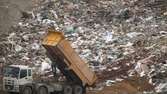 Hong Kong, sampah