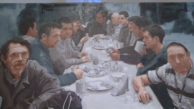 'Our Last Supper' painting
