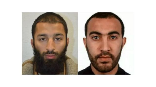 Photos of two attackers released by Met Police