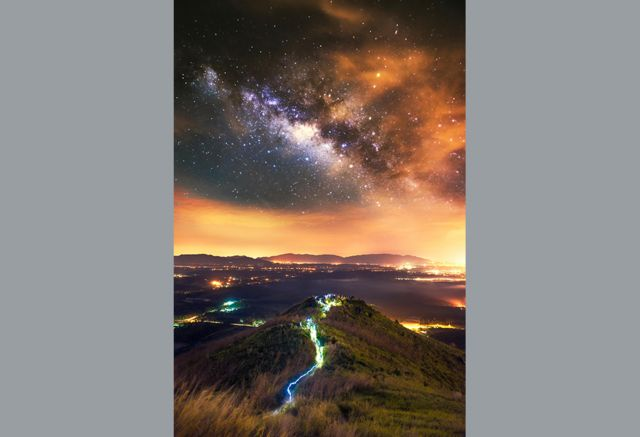 Sparkling starscapes caught on camera