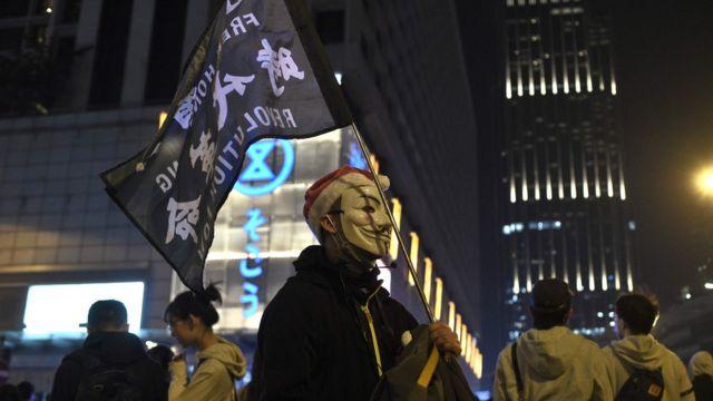 示威者表明會繼續抗爭。