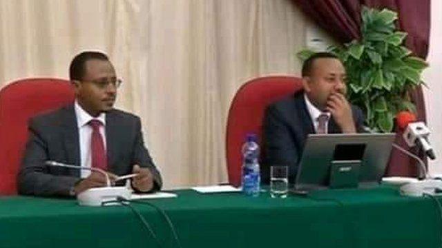MM Abiyyiifi Obbo Lammaan rakkoo tibbana Oromiyaa keessa erga dhalatee booda jaarsolii biyyaa waliin Finfinneetti mari'ataniiru