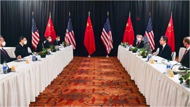 中美2021年3月在阿拉斯加的高层对话,是美国拜登政府上台以来的首次。
