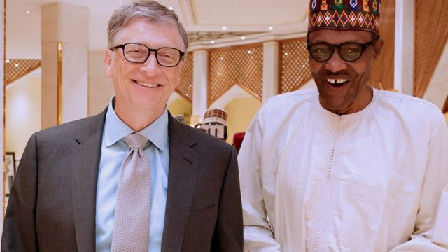 Bill Gates ati Muhammadu Buhari