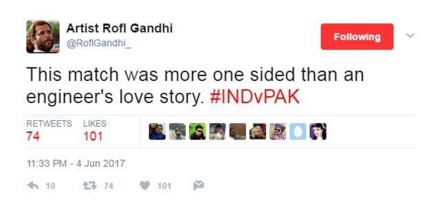 भारत-पाक क्रिकेट मैच