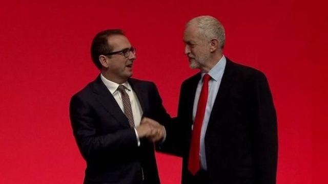 Jeremy Corbyn agiye gukomeza kuyobora Labour