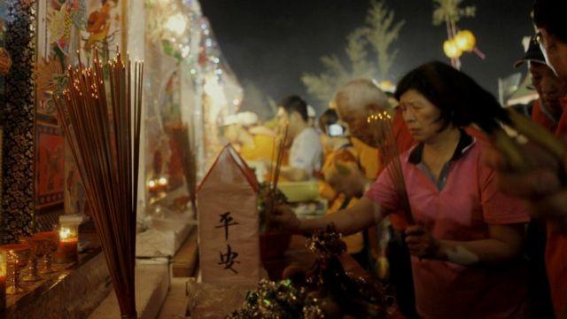 Фестиваль на Тайване длится месяц: считается, что в это время ворота мира мертвых открываются и духи наполняют мир живых