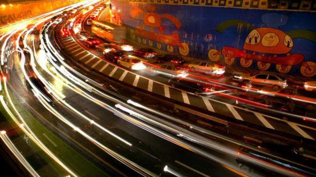 Congestión automotriz