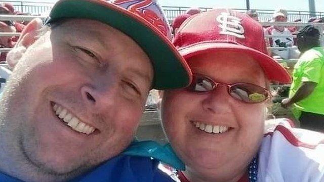 برايان وزوجته إيرين التي توفيت هذا الشهر