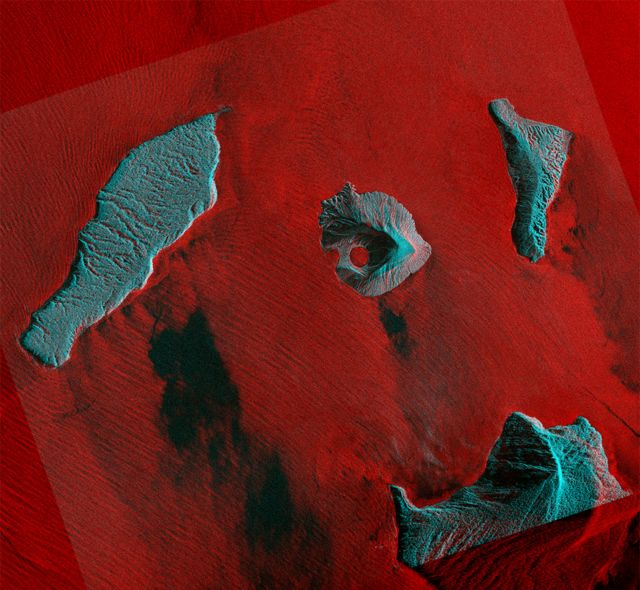 Finnish radar satellite eyes Anak Krakatau