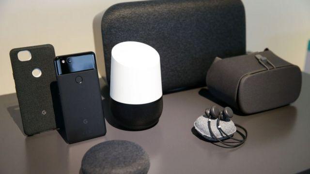 Dispositivos de Google Home