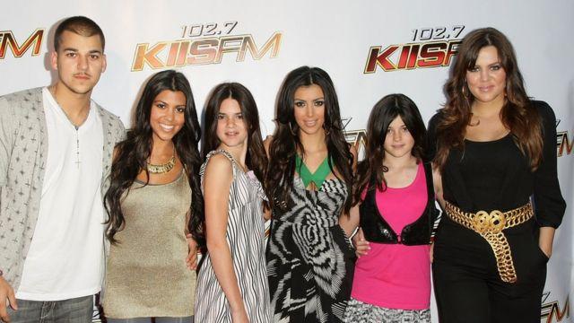 Rob, Kourtney, Kendall, Kim, Kylie and Khloe