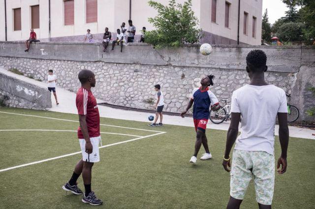 Le match de foot quotidien
