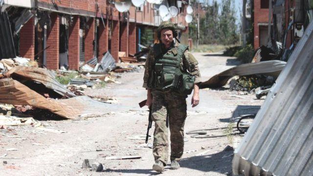 """Внаслідок боїв село """"Широкине"""" було майже зруйноване, цивільних там не залишилося"""