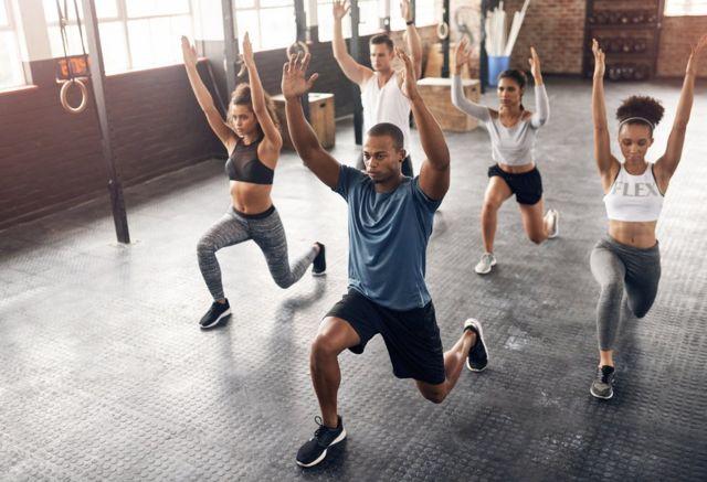 Ejercicio en el gym