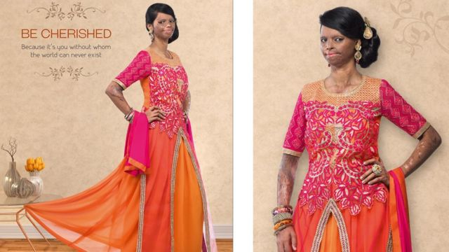 Indian acid attack survivor is new face of fashion brand