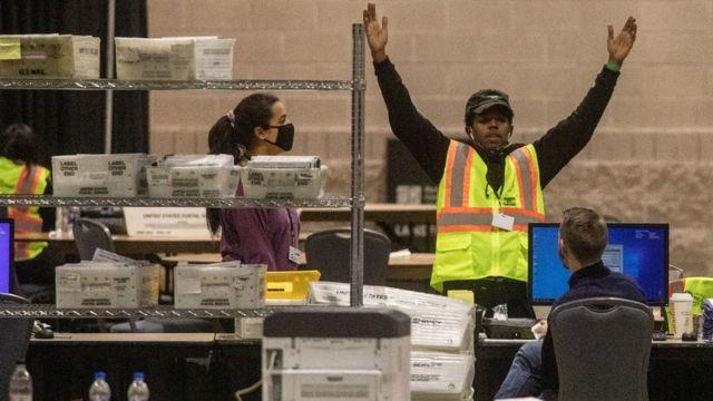 宾州选举点票
