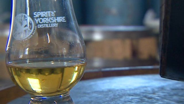 Whisky from the Spirit of Yorkshire distillery near Hunmanby