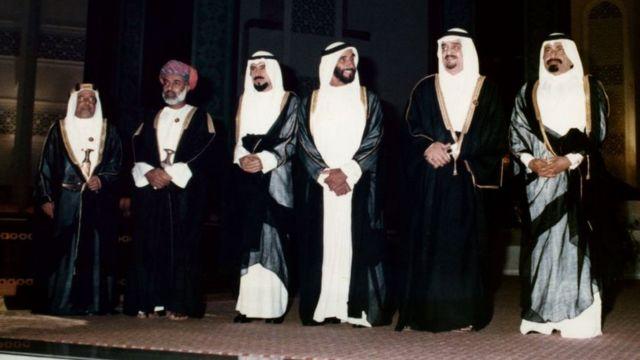 کشورهای عربی جنوب خلیج فارس توسط شش خانواده اداره میشوند