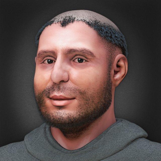Reconstituição facial de Santo Antônio