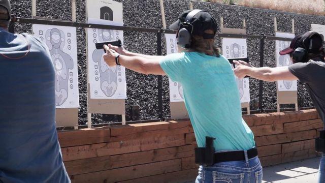 Treinamento de professores contra atiradores