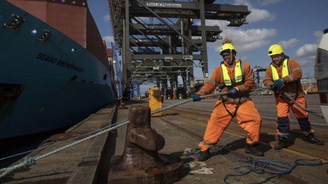 中国在欧洲的投资包括多个港口。
