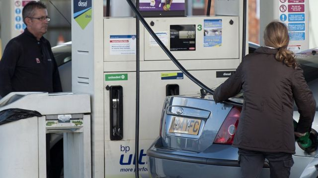 Fuel prices push up UK inflation rate to 0.6%