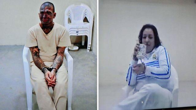 Dos de los condenados en el caso Viudas negras.