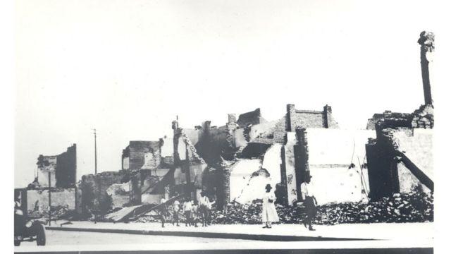 Greenwood depois da destruição