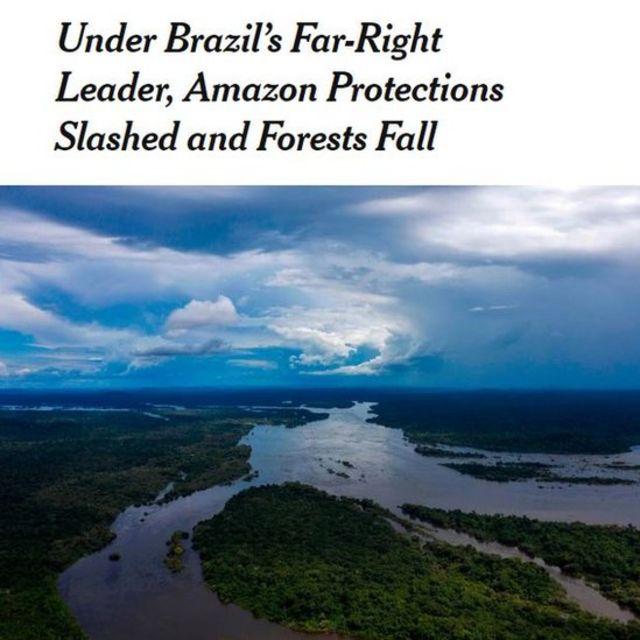 Artigo do The New York Times sobre Brasil