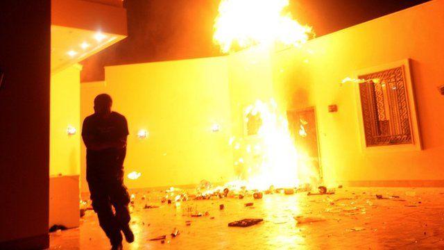 Ataque à embaixada americana na Líbia