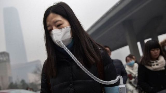 China is a developing country with severe air pollution in its cities