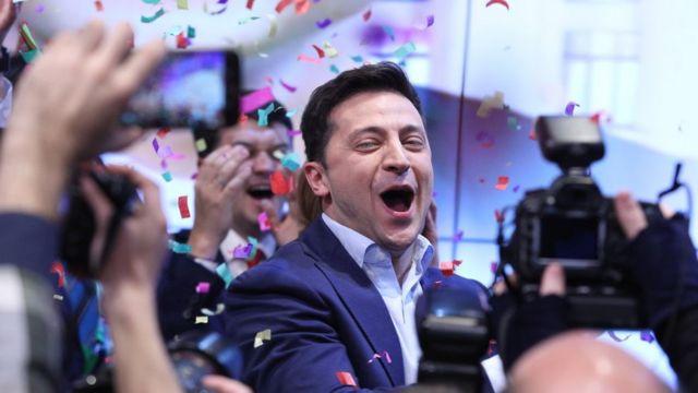 Comedian Zelensky