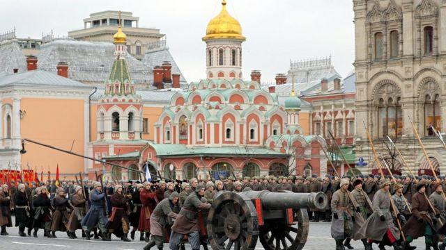 Rusia, revolusi oktober, Moscow