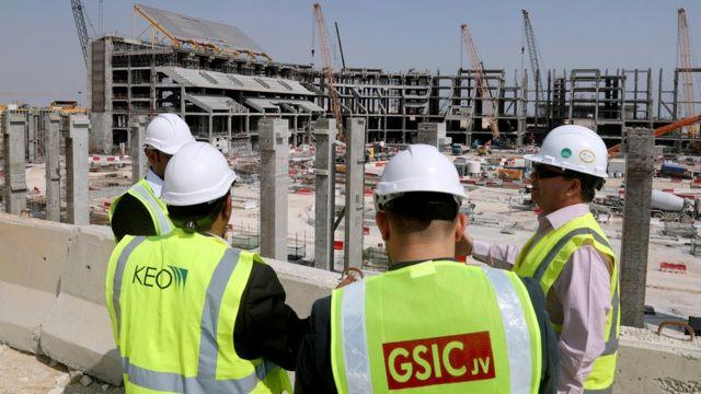 Стройплощадка в Катаре
