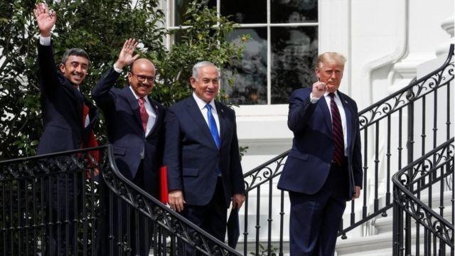 ثمة تكهنات بأن صفقة سلام سعودية-إسرائيلية قد تعقب توقيع الإمارات والبحرين لاتفاقي سلام مع إسرائيل