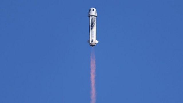 El lanzamiento de Blue Origin