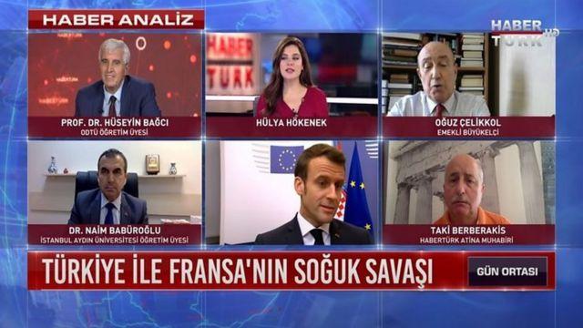 """هابرترک (خبرترک)، تنش میان فرانسه و ترکیه را """"جنگ سرد"""" خوانده"""