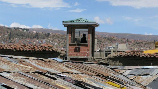 Torre de vigilancia, prisión de San Pedro.