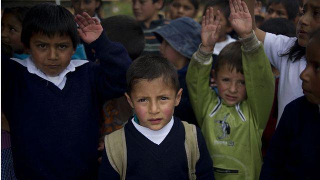 Hijos de refugiados colombianos