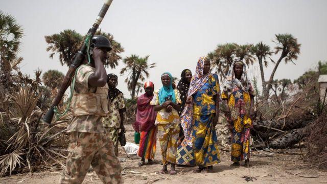 Sojoji sun fatattaki Boko Haram kafin su shiga garin Biu