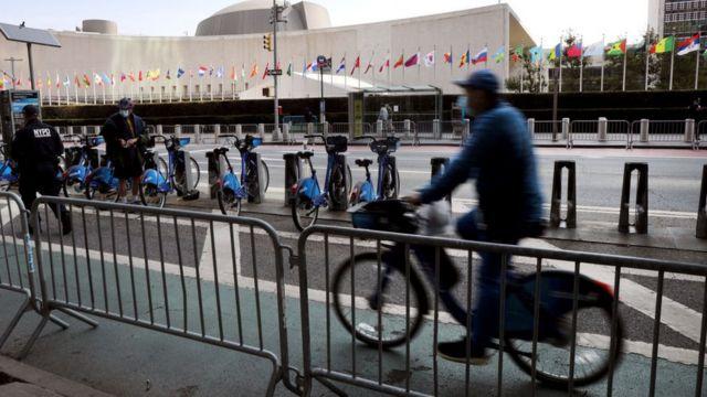 BM'nin New York'taki binası.