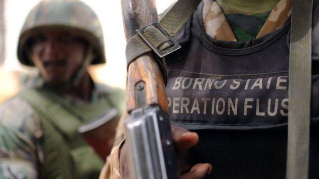 Abasirikare ba leta barungitswe mu ntara ya Borno muri Nigeria