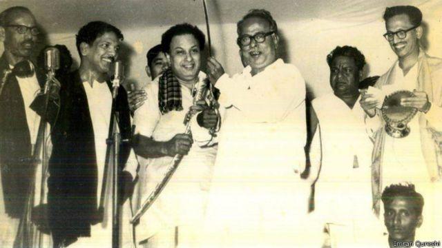 எம்ஜியாருடன் கருணாநிதி , அண்ணா