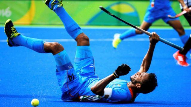 भारतीय हॉकी खिलाड़ी