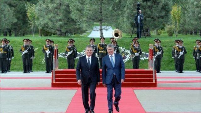 Президент А. Атамбаевдин Ташкентке расмий сапары 5-октябрда болду.