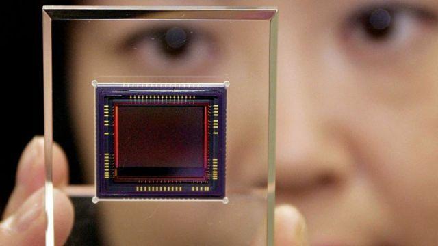 Sensor de câmera digital