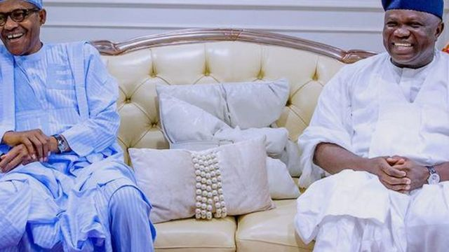 Buhari ati Ambode