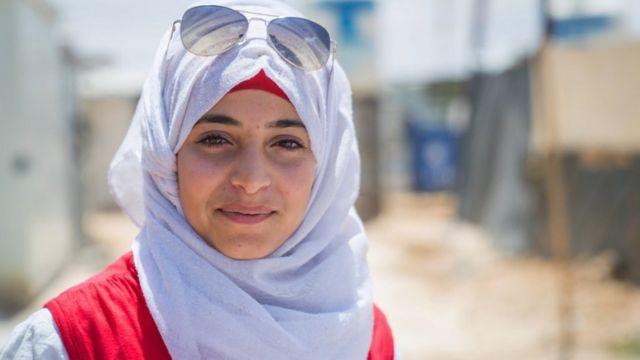 Maram, birkaç yıl önce Suriyeli mülteci olarak Ürdün'e gitti